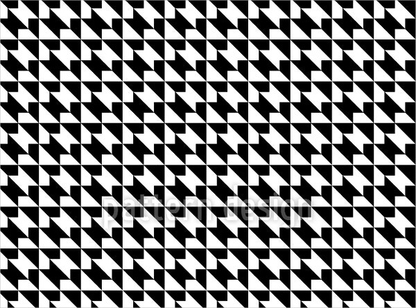 geometry black and white pattern