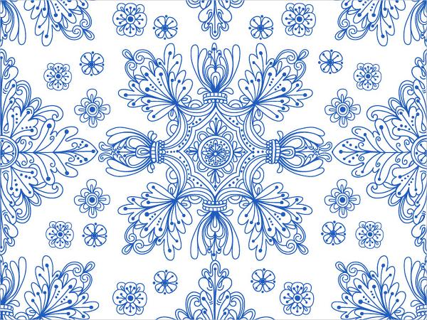 Portuguese Tiles Pattern