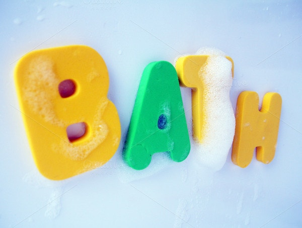 bubble bath letter template