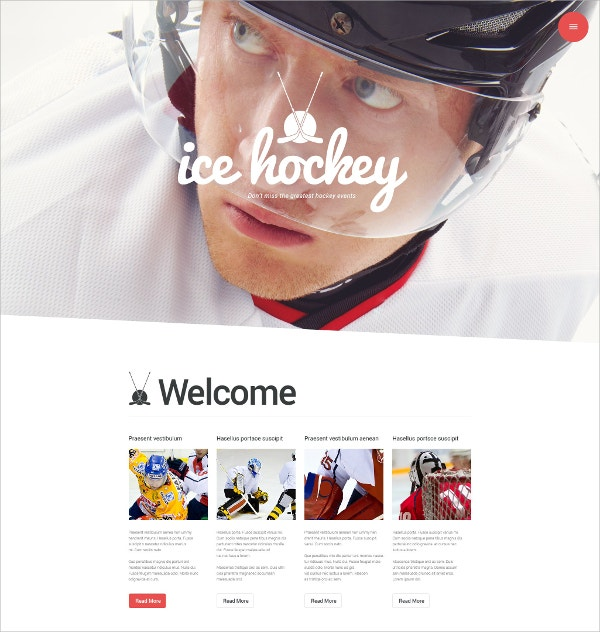 Sports Blog Portfolio WordPress Theme $79