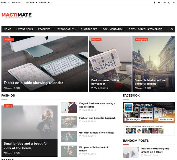 15+ Free Beautiful Blogger Templates | Free & Premium Templates