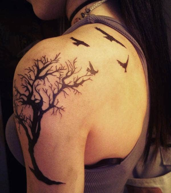 Tree of Life Tattoo On Arm