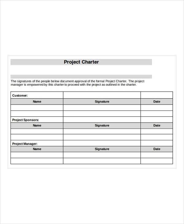 Project Templates  Free Sample Example Format  Free