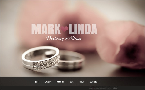 Wedding Agency & Planner WordPress Theme $68