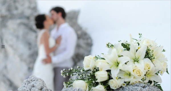 Fullscreen Wedding WordPress Theme