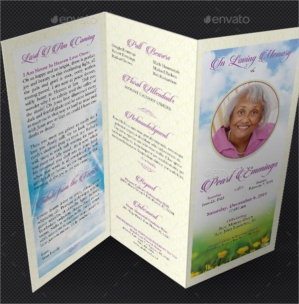 funeral program template word | datariouruguay