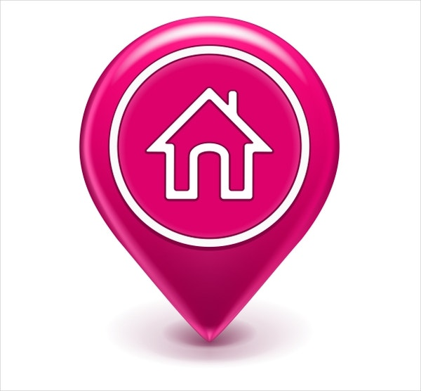 Location Home Icon