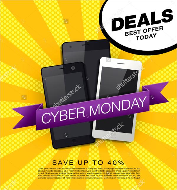 Smartphones Discount Sale Flyer