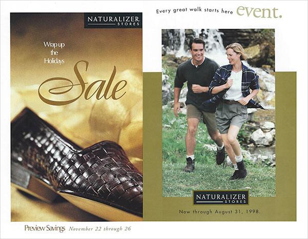 Naturalizer Shoe Sale Flyers