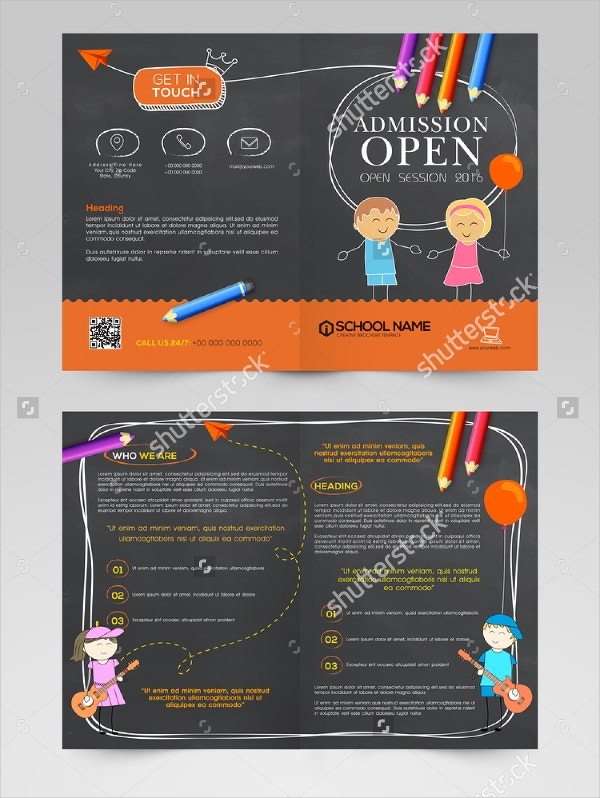 Preschool Admissions Open Brochure