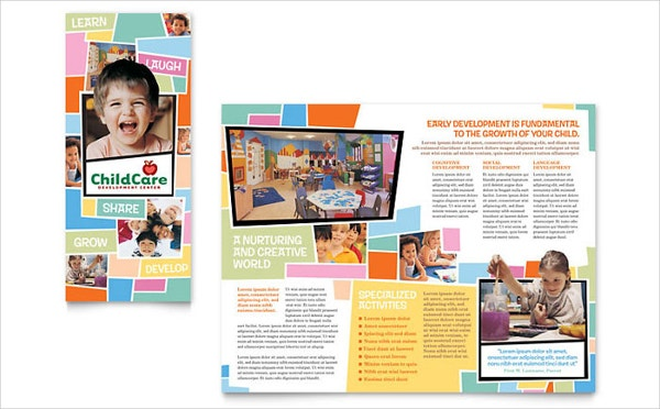 Preschool & Day Care Brochure Design