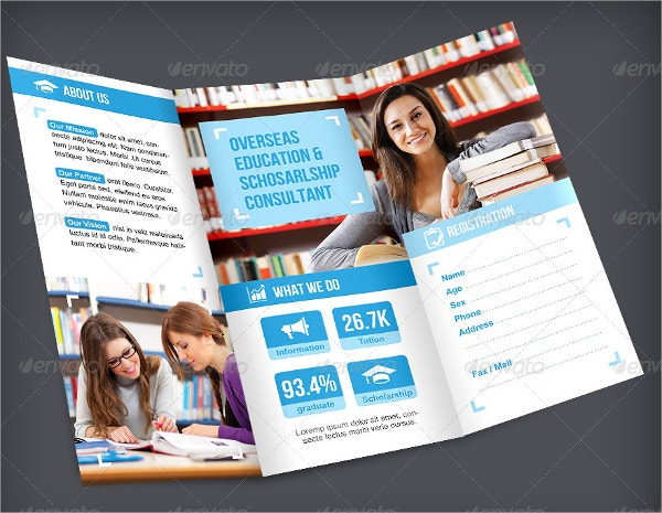 Preschool Brochure  Free Psd Ai Eps Format Download  Free