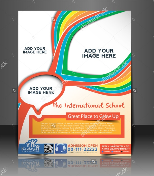 Vector Preschool Brochure
