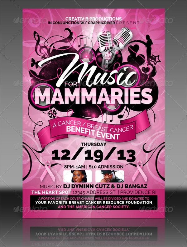 16  breast cancer flyer design templates