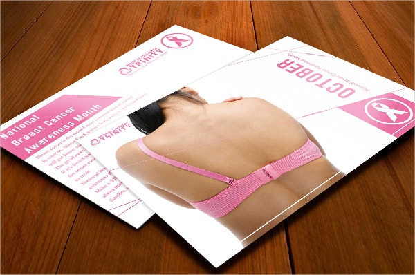 national breast cancer awareness flyer