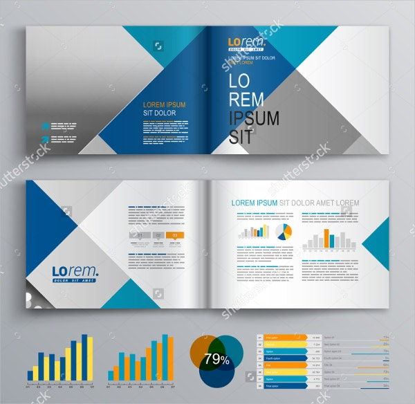 24 square brochure free psd eps ai format download for Custom brochure design