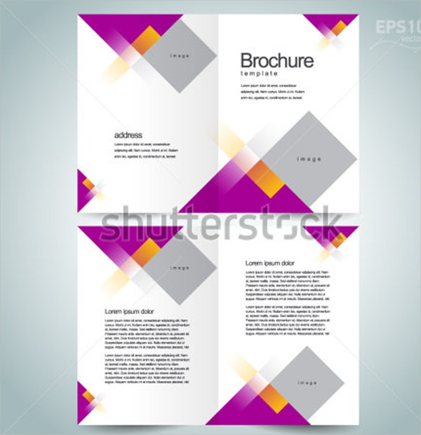 Abstract Square Brochure Template