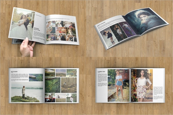fashion marketing square brochure