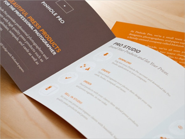 print square brochure template