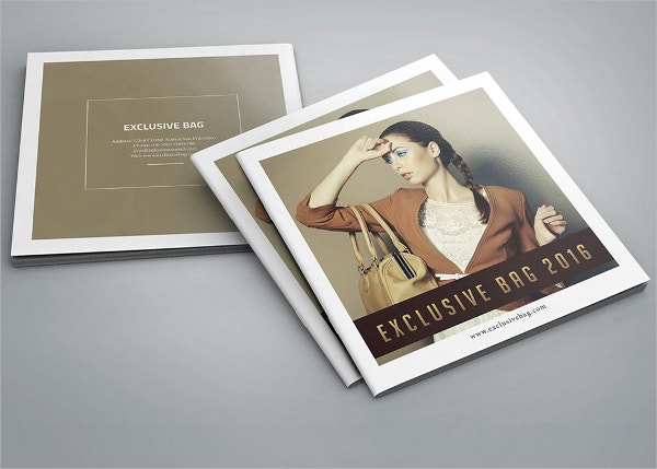 Fashion Product Square Brochure Template