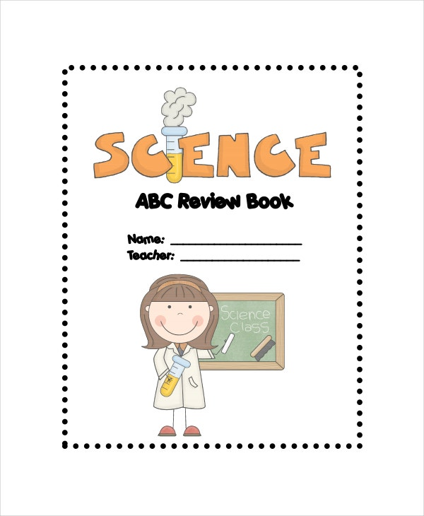 science abc review book template