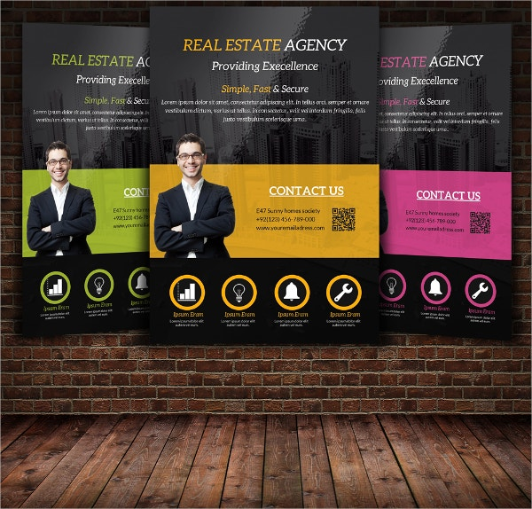 Luxury Apartment Agency Flyer Template