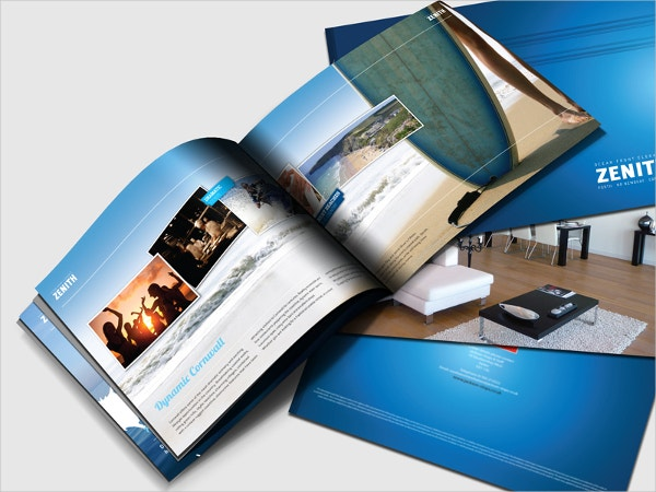 landscape apartment brochure