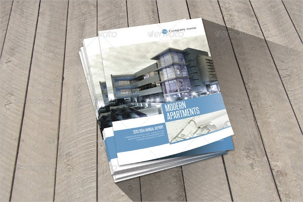 Modern Apartments Template Brochure