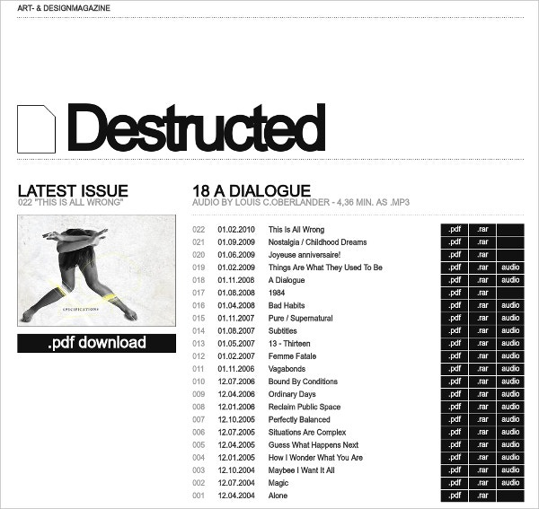 destructed