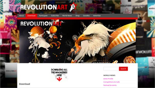 revolutionartmagazine