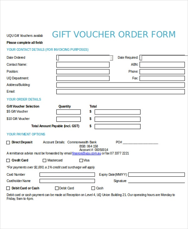 12+ Voucher Template - Free Sample, Example, Format | Free