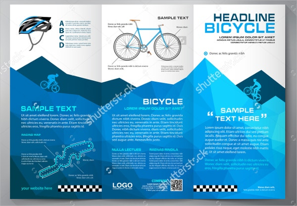 Cycle Sale Brochure Template