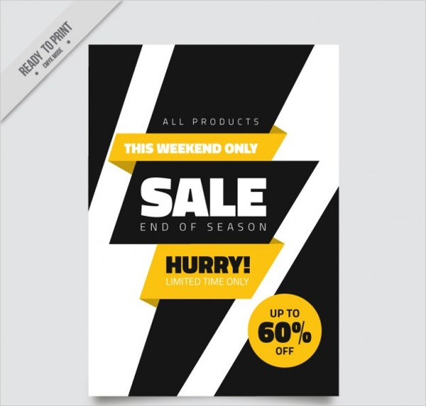 Modern Sale Brochure Template