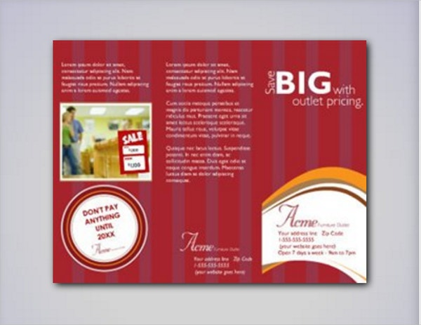 Sales Promotion Brochure Template