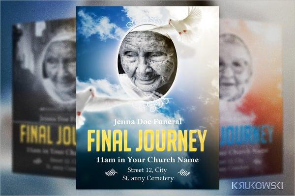 Final Journey Funeral Flyer