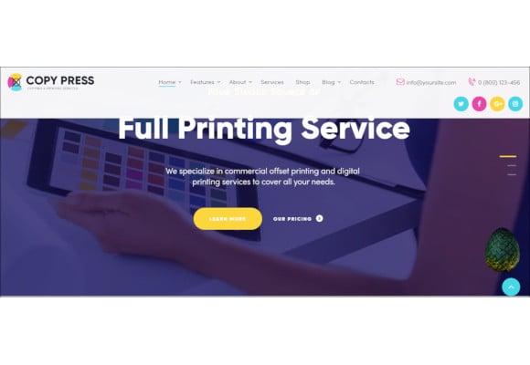 3d print technology wordpress theme