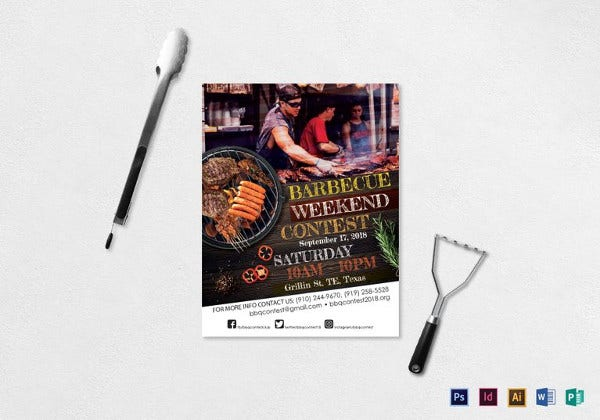 bbq-contest-flyer-template