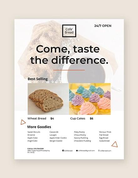 34 Bakery Flyer Templates Psd Ai Eps Free Premium Templates