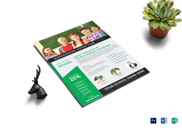 best school tutoring flyer template