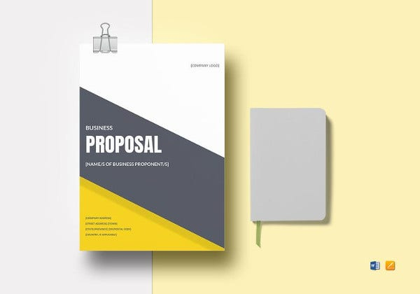 template for a thesis proposal