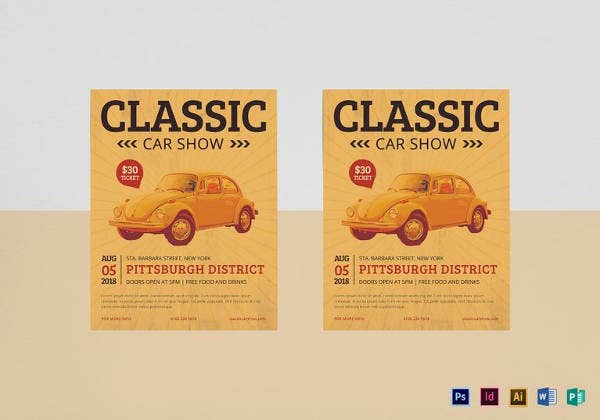 classic-car-show-flyer-template