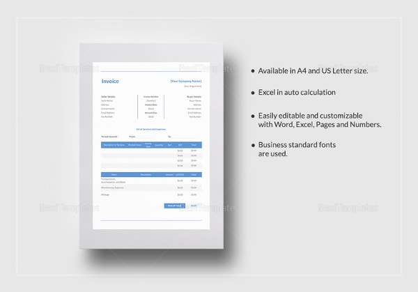 construction invoice template3
