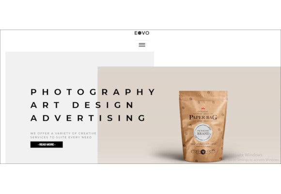 creative ecommerce wordpress theme