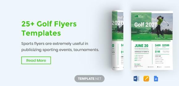 golfflyerstemplates