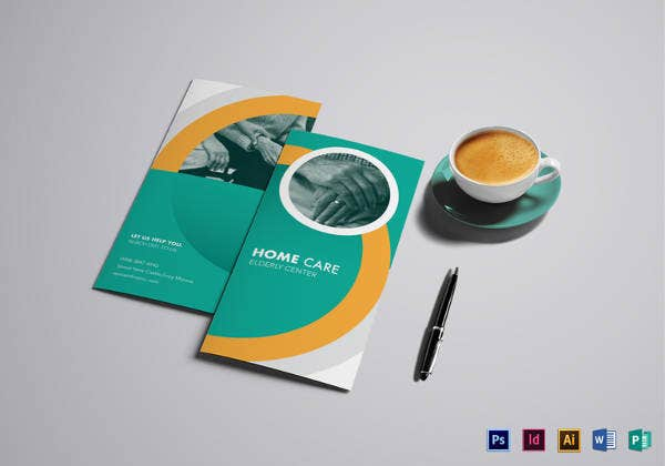 home-care-brochure-design-template