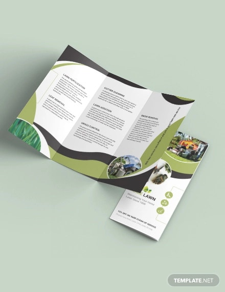 home care tri fold brochure template
