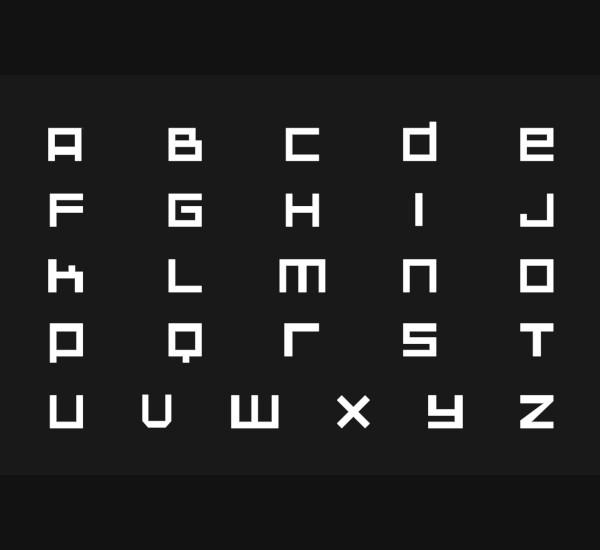 hunters pixel font