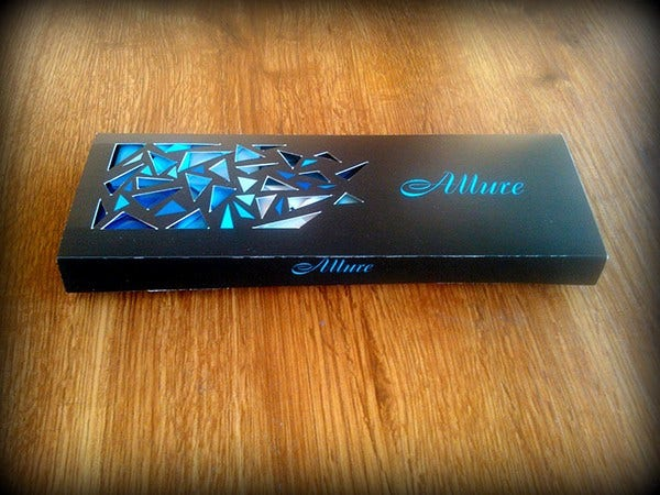 mini chocolate box template