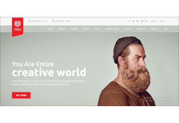 multipurpose onepage wordpress theme