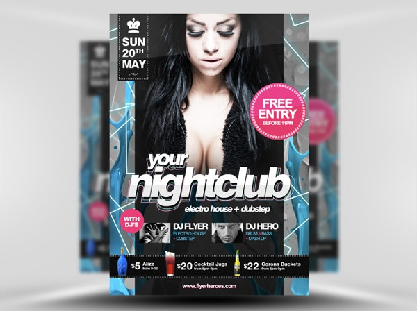 night-club-free-flyer-template